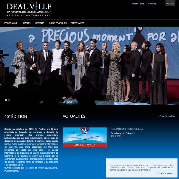 Festival du cinéma américain de Deauville